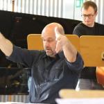 HfM Jazzorchester Probe